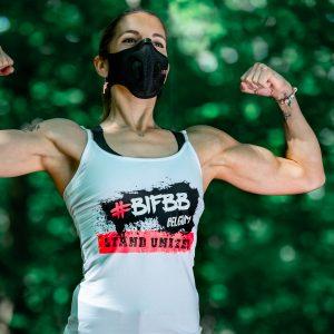 BIFBB Stand United masker