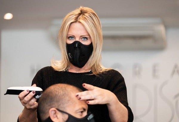 mondmaskers voor kappers