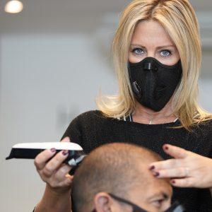 mondmasker voor kappers